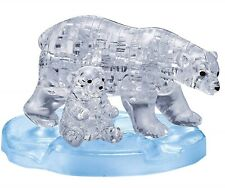 Polar Bear 3D Crystal Puzzle Mother and Baby Set