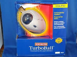 Kensington USB/PS2 TurboBall 64227 Scrolling Mouse Trackball
