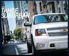 Prospekt brochure 2013 Chevrolet Tahoe / Suburban  (USA)