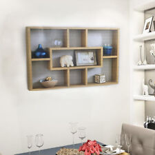 Space Saving Floating Wall Shelves Display Shelf Bookshelf Storage Unit UK