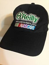 NEW Black O'REILLY Auto Parts Store Cap Official NASCAR provider