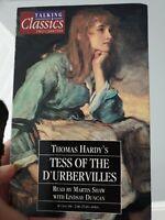 Talking Classics 2 Cassettes Vintage Audio Book - Tess Of The D'Urbervilles