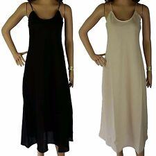 b6ecd0997a5 Size 20 Full Slip 100% COTTON Quality Voile Ladies XXL Long Petticoat Dress