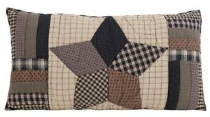 Bingham Star Country Cotton Pillow Sham Queen or King