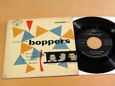 Jazz 45-EP CHARLIE VENTURA & CHUBBY JACKSON Parade Of The Boppers #7 MERCURY NM-