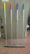 Floor Scraper + Aluminium Handle 1450mm Long Uk Made Heritage Cleaning Gum