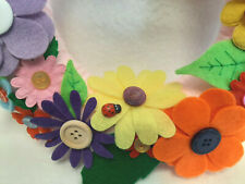 DIY Spring Wreath Craft Kit, Everything Included, Suitable for Adults & Children