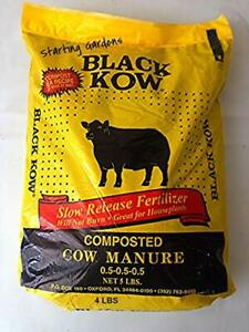 Black Kow Cow Manure Compost