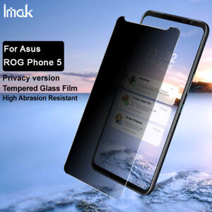 IMAK Privacy Full Cover Tempered Glass Film For Asus ROG Phone 5 5s / 5 5S Pro