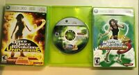 Xbox 360 DANCE Lot - Dance Dance Revolution Universe 1, 2, & 3 - 3 Games