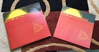 REO Speedwagon A Decade Of Rock and Roll  W/ Lyric Booklet LP Vinyl, 1980 Epic