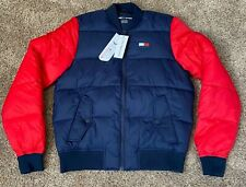 NEW Tommy Hilfiger SPORT Mens NWT Navy Red Baseball...
