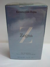Ermenegildo Zegna Z Zegna Eau de Toilette spray 50 mL (1.6 OZ) Sealed