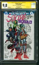 Suicide Squad 1 CGC 3XSS 9.8 Jim Lee Williams Harley Quinn Variant sequel Movie