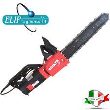 Elettrosega Comer E21 230V 1800 W completa di catena widia LAMA 53 Cm ed olio