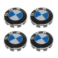99BMW ALLOY WHEEL CENTRE CAPS 1 2 3 4 5 6 7 SERIES E90 F10 F20 F30 M3 M5 X5 68MM