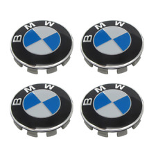 BMW ALLOY WHEEL CENTRE CAPS 1 2 3 4 5 6 7 SERIES E90 F10 F20 F30 M3 M5 X5 68MM