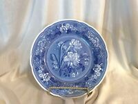 SPODE BLUE ROOM Dinner Plate Botanical COLLECTION  * British Flowers  * ENGLAND