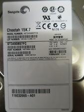 SEAGATE 450 GB 15K.7 Fibre Channel Hard Disk ST3450857FC 9FM004-031 FW EC0B