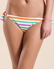 Monsoon Women's Striped Side Tie Swimwear