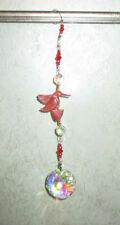 Hummingbird Orgonite W Lg AB Crystal Window Suncatcher Healing EMF Protection #1