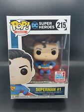 FUNKO POP! DC SUPER HEROES: SUPERMAN NO.1 #215...NYCC EXCLUSIVE in Protector