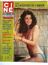 Ciné Télé Revue 26/7/1979; Alberto Sordi/ Stallone/ Bacall/ Sylva Koscina/ Zizi