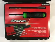 NEW Snap On Soft Grip Ratcheting Screwdriver Set SGDMRC108AO (GREEN)