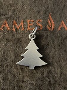 James Avery Retired Christmas Tree Charm Sterling Silver