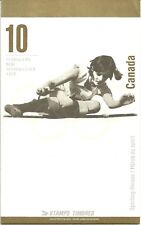 CANADA UT BK 192a 1996 OLYMPIC GOLD MEDALISTS BOOKLET