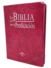 BIBLIA PARA LA PREDICACION REINA VALERA 1960 COLOR PURPURA