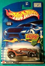 HOT WHEELS 2002 COLD BLOODED SERIES SPEED SHARK MALAYSIA SILVER 5 SPOKE #076
