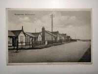 c1940's Vintage Postcard - Bungalows, Skinburness, nr Silloth, Cumberland
