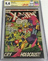 Marvel Uncanny X-men #74 Signed by Stan Lee CGC 9.4 SS Red Label