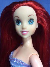 L4) Disney Simba Ariel Doll. Beautiful Cond. Soft Sleek Tangle Free Hair.