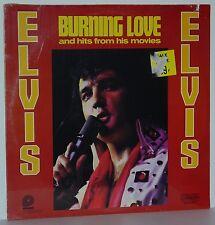 ELVIS PRESLEY  Burning Love  Original SEALED Vinyl LP  Pickwick Camden CAS-2595