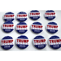 12X 2020 DONALD TRUMP KEEP AMERICA GREAT! Presidential Campaign Button Badge Set