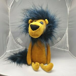 "Jellycat Swellegant Lancelot Lion 38cm 13"" Stuffed Animal Plush Toy NEW"