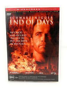 End Of Days (DVD, 1999) Arnold Schwarzenegger Region 4 Free Postage