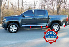 2015-2019 Chevy Colorado/Canyon Crew Cab Short Bed Chrome Rocker Panel Trim 10Pc