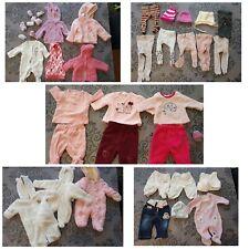 XXL Bekleidungspaket Baby Mädchen 50 56 Winter, 39 Teile