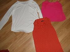 Womens size 12 top bundle white Papaya BNWT M&co Cameo Rose