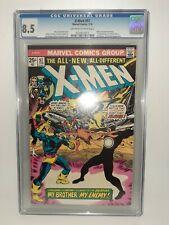 Marvel Uncanny X-Men #97 1st Appearance Lilandra Cgc 8.5 Claremont Case Is Mint