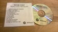 CD POP Kevin Yost-Road Less Travelled (13) canzone PROMO distance Rec