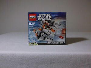 LEGO STAR WARS 75074 Snowspeeder MICROFIGHTERS SERIES 2 - New, Factory Sealed