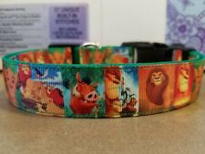 The Lion King Dog Collars (2 different styles)