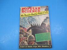 Popular Science Magazine July 1943 Has Precision Bombing Failed?