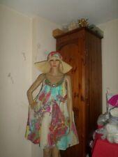 Vestido de Verano Derhy Super Hermoso Y Delicado Luz Cómoda Suave Relajada S