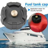 Marine Boat Gas Cap Fuel Oil Tank Cover For 12L/ 24L Outboard Engine Replacement
