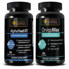 Alpha Fuel & OrvigoMax Increasing your masculino energy